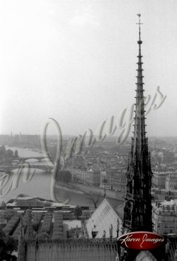 05_spire-and-seine_notre_dame_cathedral_paris_black_and_white_photograph_paris_france