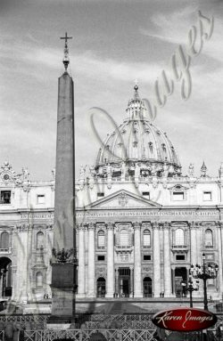 Black and White image of Rome ItalyBlack and White image of Rome Italy