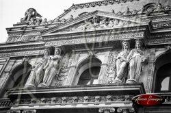 Black and White image of Paris Street Scenes
