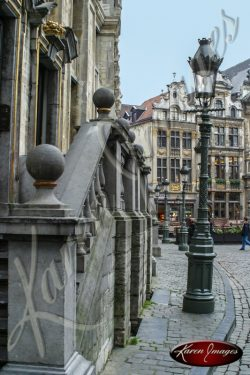 Color image of Grand Place Brussels Belgium
