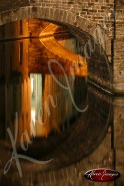 Reflections of Brugge Belgium