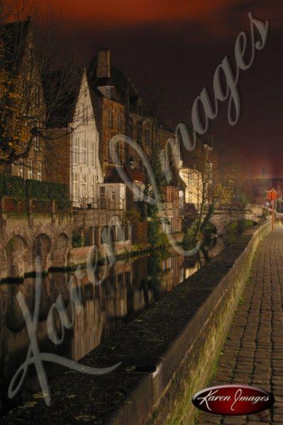 Brugge Canal View Belgium
