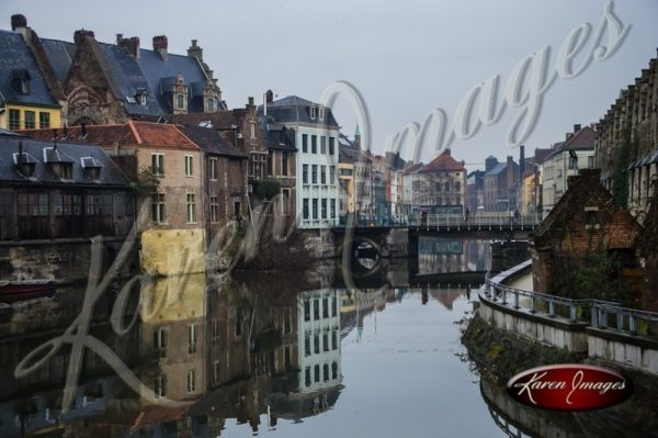 Color Image of Ghent Belgium