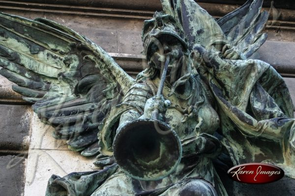 Angel with Horn Budapest