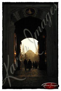 Sultanahmet Gate Istanbul Turkey