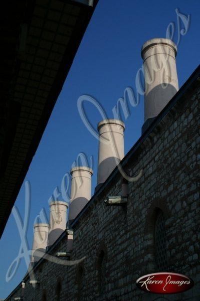 Smokestacks Sultanahmet Istanbul Turkey