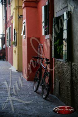 Burano Bicycle Burano Italy