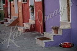 Front Steps Burano Italy