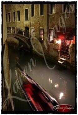 Night Rider Venice Italy