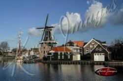 Windmill Haarlam Netherlands