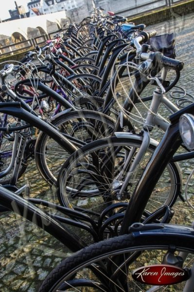 Bike Rack Maastricht Netherlands