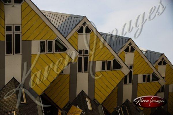 Blaak Houses Rotterdam Netherlands