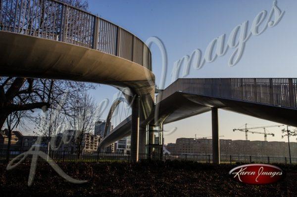 Pedestrian Bridges Maastricht Netherlands