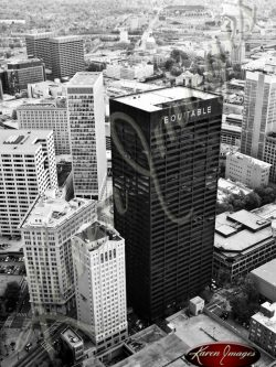 East-of-Peachtree-Atlanta-Georgia-Black-and-White