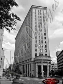 Flat-Iron-Building-Atlanta-Georgia-Black-and-White