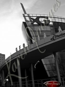 Ga-Aquarium-Bow-Atlanta-Georgia-Black-and-White