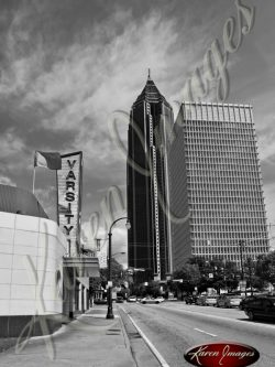 The-Varsity-East-View-Atlanta-Georgia-Black-and-White