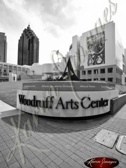 Woodruff-Arts-Center-1-Atlanta-Georgia-Black-and-White