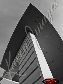 World-of-Coke-Roofline-Atlanta-Georgia-Black-and-White