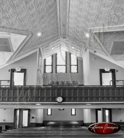 Ebenezer Baptist Church Atlanta Georgia Black and White