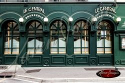 Le Central Brasserie in Epernay France