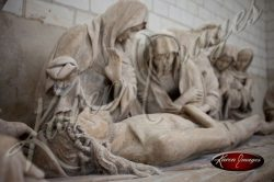 burial of christ from church in troys france