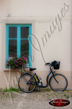 French Bicycle in Beaune
