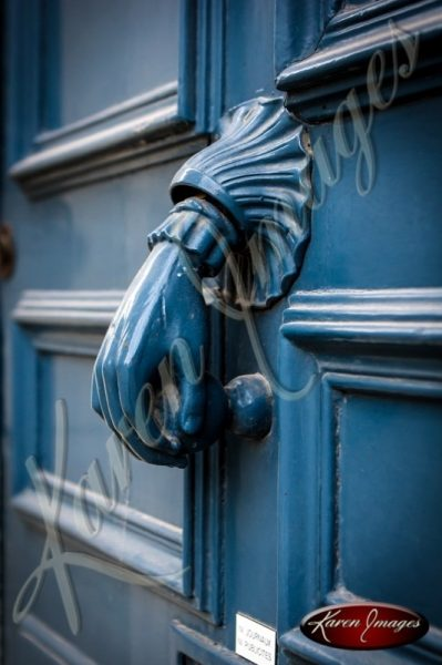 Decorative Door Knocker in Troys France