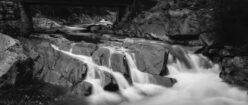 Black and white of rivers streams waterfalls smokey mountains cumberland gap amicalola falls