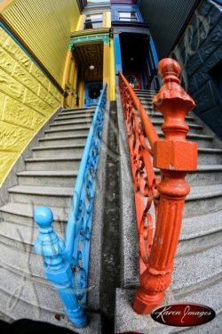 Color image of Haight Ashbury San Francisco California