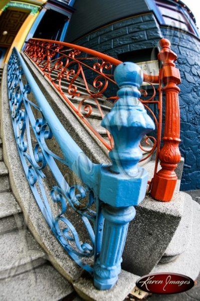 Color image of Haight Ashbury San Francisco California
