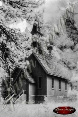 Yosemite Chapel Yosemite California 014