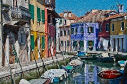 cleared art of venice san marco square italy bridge of sighs canals gondolas burano