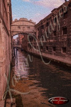 cleared art of venice san marco square italy bridge of sighs