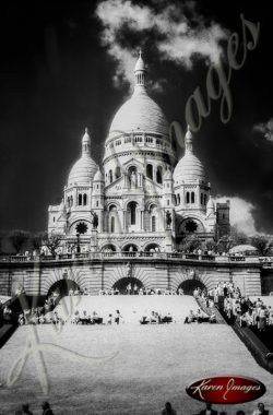 Image of Le Sacre Coeur Paris France Montmartre
