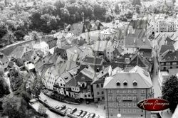Castle Image of Ancient Village of Ceske Krumlov Czech Republic