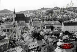 Image of Ancient Village of Ceske Krumlov Czech Republic
